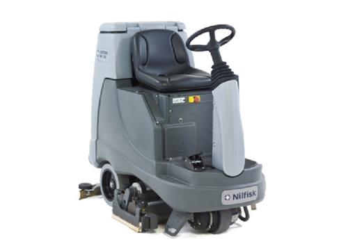 BR855驾驶式洗地机